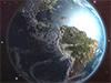 Earth 3D Space Survey Screensaver